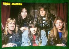 IRON MAIDEN & LARS ULRICH of METALLICA - Double Sided MONSTERS OF ROCK POSTER