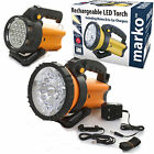 LED TORCH RECHARGEABLE LANTERN WORK LIGHT 1 MILLION CANDLE POWER SPOTLIGHT