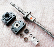 1 ballscrew RM2005-1250mm-C7 + BK/BF15 end support+ coupler 8*12mm
