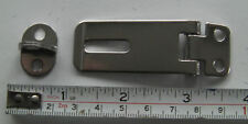 HASP AND STAPLE IN STAINLESS STEEL, SMALLEST SIZE 65mm X 23mm