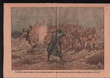WWI Chasseur Alpin 23 BCA Jean Capan  Deutsches Heer France 1917 ILLUSTRATION