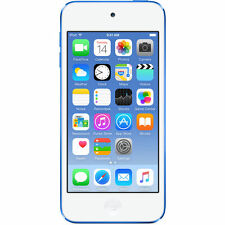 Apple iPod touch 6th Generation Blue (128GB) (Latest Model)