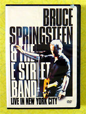 Bruce Springsteen & The E Street Band - Live in New York City ~ DVD Movie Video
