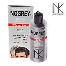 NOGREY LOZIONE ELIO ANTIGRIGIO colore capelli UOMO no tinta EXTRA CON CHERATINA
