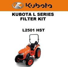 Kubota L2501 H HST Tractor Filter Maintenance Kit Fast Free Shipping Oil Air