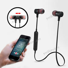 Bluetooth 4.0 Sport Headset Earbuds Stereo Headphone Earphone For Iphone Samsung