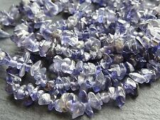 "IOLITE CHIPS, approx 4x6mm, 34"", 350+ beads"