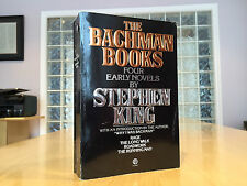 Stephen King - THE BACHMAN BOOKS - First Printing Softcover -