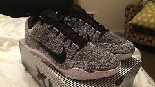 "Nike Kobe XI 11 Elite Low ""OREO"" White/Black-Black 822675 100 Size 10 w/Receipt"