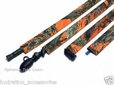 True Timber Orange Hydration BackPack drink tube cover sleeve for your camelbak