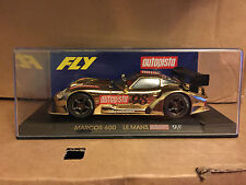 FLY LIMITED EDITION MARCOS AUTO PISTA GOLD E-22 MINT BOXED