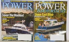 Power And Motoryacht ~ 2 Issues ~ December 2016 ~ January 2017