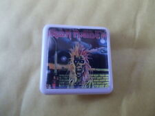 IRON MAIDEN  ALBUM COVER    BADGE PIN