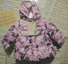 BNWT JOHN GALLIANO PURPLE DOWN FILLED COAT AGE 6 MONTHS TAG PRICE £206