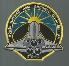 "SPACE SHUTTLE ATLANTIS  STS-132 4 1/2 "" PATCH"