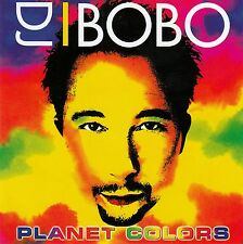 DJ BOBO : PLANET COLORS / CD - TOP-ZUSTAND