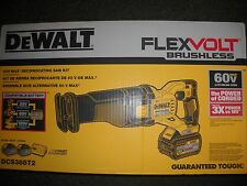 DeWalt DCS388T2 60V FLEXVOLT Cordless Li-ion Reciprocating Saw 2 Battery NEW