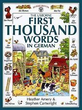 First Thousand Words in German (First Picture Book) (German and English Edition