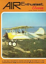 AIR ENTHUSIAST #11 NOV 79-FEB 80: EGYPT'S HA-300/ WWII AUSTER OAPs/ P-80 STORY
