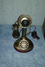 ANCIEN TÉLÉPHONE ANTIQUE OLD PHONE A TOUCHE  FONCTIONNE