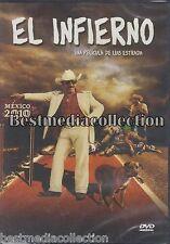 El Infierno DVD NEW Damian Alcazar ORIGINAL Una Pelicula De Luis Estrada SEALED