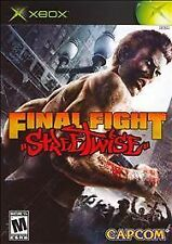 Final Fight Streetwise-- xbox game