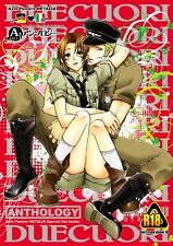 Axis Powers Hetalia YAOI Doujinshi ( Germany x North Italy ) 256-page! Anthology