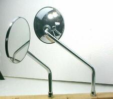 Kawasaki KH100 Pair of Early Chrome Mirrors QMPK1