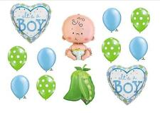 SWEET PEA IN POD BABY BOY BALLOONS shower Decorations