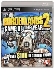 Borderlands 2 -- Game of the Year Edition (Sony PlayStation 3, 2013) Complete!