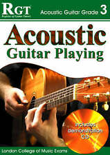 RGT Acoustic Guitar Playing Grade 3 Three Exam Grade Book 1st Class SameDay Post