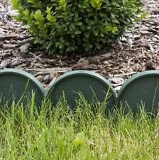Plastic Garden Fence Panels Boarder Lawn Palisade Edge Patio Fencing GREEN KRA