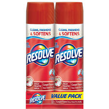 Resolve High Traffic Foam Large Area Carpet Cleaner, 22 oz, (Pack of 2)