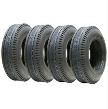 Four  5.00-10 trailer tyres 6ply high speed road legal 437kgs 500x10 79N 5.00x10