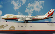 Hogan Wings 1:200 Boeing 747-100 TWA Trans World N93108 + Herpa Wings Katalog