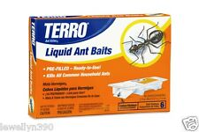 Terro 300 Liquid Ant Killer BAIT STATIONS Traps (Pack of 6)