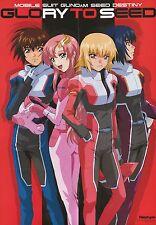 Gundam Seed destiny poster promo Athrun Zala Kira Yamato Lacus Clyne Cagalli