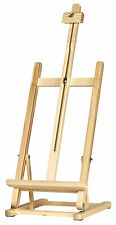 Table Top Display Easel (800mm-1040mm High) artista ARTE Craft-Pine Wood in legno