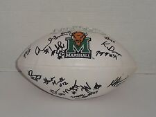 2016 MARSHALL THUNDERING HERD TEAM SIGNED FOOTBALL AUTOGRAPHED EXACT PROOF
