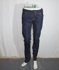 Phard jeans donna TG 47 W33 blu scuro usato e originale