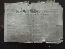 HISTORIC February 10, 1865 New York Tribune Civil War Newspaper