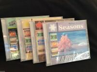 SEASONS RELAXATION MUSIC CD'S MEDWYN GOODALL MEDITATION THERAPY NEW AGE HEALING