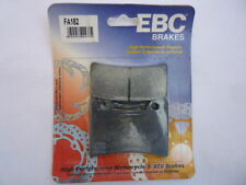 NEW YAMAHA 1000 EX UP (USD Forks) 91-93 FRONT Genuine EBC DISC Brake Pads FA182