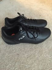 Men's FILA EXALADE 1SC50000 ALL Black Training Sneakers Shoes Size 11  NEW