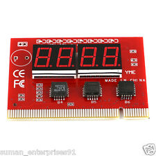 PC4-digit Code Mainboard Motherboard Diagnostic Analyzer Card Motherboard Tester