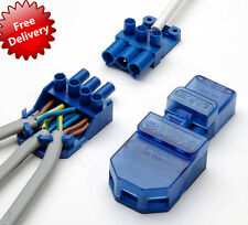 CT101C Click Flow 3 Pin Connector Pull Apart ** PACK OF 5 **