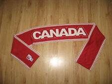 scarf CANADA red/white HBC official olympic 2006