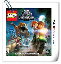 3DS NINTENDO LEGO Jurassic World Action Warner Home Video Games