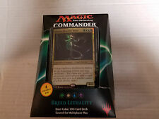 MtG Magic: the Gathering Commander 2016 Deck Breed Lethality NEW
