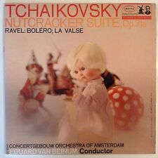 Tchaikovsky Nutcracker Suite Ravel Boléro La Valse LP Records Vinyl Album LC3585